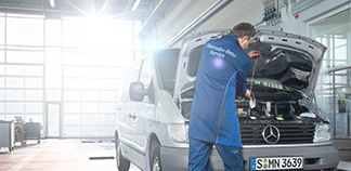 Service and Repairs at Mercedes-Benz of Walsall
